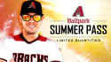 Arizona Diamondbacks Ballpark Summer Pass for $80