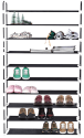 MaidMax 10-Tier Shoe Rack for $28 + free shipping