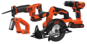 Black + Decker 20V Cordless 4-Tool Kit for $99 + free shipping
