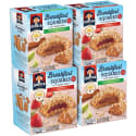 20 Quakers Breakfast Squares for $10 + free shipping