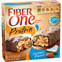 30 Fiber Protein Coconut Almond Chewy Bars for $15 + free shipping w/ Prime