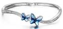 Brilla Swarovski Elements Butterfly Bracelet for $15 + free shipping