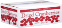 Traverse Bay Dried Cranberries 4-lb. Box for $14 + free shipping
