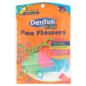 Dentek Kids' Fun Flossers 75-Pack for $1 + pickup at Walmart