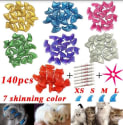Cat Claw Cover 140-Piece Set for $7 + free shipping w/ Prime