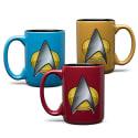 Star Trek Next Gen Mugs for $5 + $6 s&h