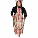 "36"" Hanging Butcher Pig Halloween Decoration for $18 + pickup at Walmart"