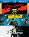 V for Vendetta/Watchmen/Constantine Blu-ray for $9 + pickup at Best Buy