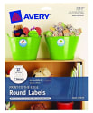 Avery Print-to-the-Edge Round Labels 60-Pack for $6 + free shipping