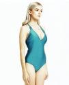Bikinibiza Hsan Women's V-Neck Swimsuit for $19 + free shipping