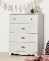South Shore Caravell 4-Drawer Chest for $120 + free shipping