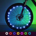 Exwell LED Bike Wheel Lights 2-Pack for $15 + free shipping w/ Prime