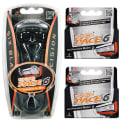 Dorco Pace 6 Razor w/ 10 Blade Cartridges for $10 + free shipping