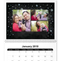 """8"""" x 11"""" 12-Month Photo Wall Calendar for $10 + pickup at Walmart"""