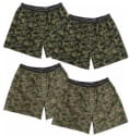 Hanes Men's Camo Tagless Boxer Briefs 4-Pack for $14 + free shipping