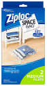 2 Ziploc Medium Flat Vacuum Space Bags for $5 + free shipping