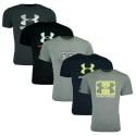 Under Armour Men's Tech T-Shirt 5-Pack for $48 + free shipping