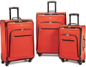 American Tourister Pop Plus 3pc Spinner Set for $100 + free shipping