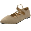 Alpine Swiss Women's Elena Ballet Flat Shoes for $11 + free shipping