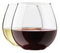 Zeppoli Stemless 15-oz. Wine Glass Set 4-Pack for $8 + free shipping w/ Prime