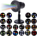 Loocool Outdoor Christmas Projector Lights for $28 + free shipping