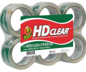 Duck HD Clear Packaging Tape 6-Pack for $9 + free shipping