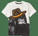 Gymboree Boys' Gorilla Tee for $4 + free shipping
