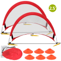GoSports 2.5-Foot Pop-Up Soccer Goals 2-Pack for $20 + free shipping