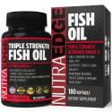 Omega 3 Fish Oil 3,000mg 180-Capsule Bottle for $12 + free shipping