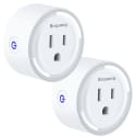 Bropang WiFi Smart Plug Mini Outlet 2-Pack for $15 + free shipping