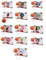 Rawlings Gear Rawlings NBA Basketball Hoop, Ball Set for $15 + free shipping