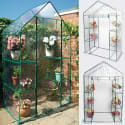 Goplus 4 Shelves Walk In Greenhouse for $39 + free shipping