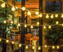 Oak Leaf 13-Foot 30-LED String Lights for $5 + free shipping w/ Prime