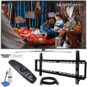 "LG 60"" 4K HDR UHD Smart TV, Wall Mount Bundle for $897 + free shipping"