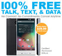 """Refurb Sharp Aquos 5"""" 4G Phone for FreedomPop for $30 + free shipping"""