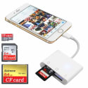 KLTrust 3-in-1 Card Reader for iPhone / iPad for $13 + free shipping