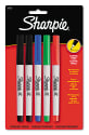 5 Sharpie Permanent Ultra-Fine Point Markers for $4 + pickup at Walmart