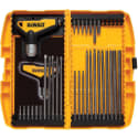 Dewalt 31-Piece Ratcheting T-Handle Key Set for $20 + free shipping