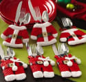 Santa Silverware Holder 6-Pack for $3 + free s&h from China