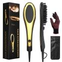 Hair Straightener Brush for $19 + free shipping
