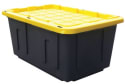 Centrex Plastics 27-Gallon Storage Tote 4pk for $25 + pickup at Office Depot