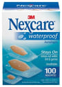 3M Nexcare Waterproof Bandages 100-Count for $7 + free shipping