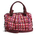 Vera Bradley Hadley Satchel Bag for $21 + free shipping
