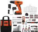 Black + Decker 20V Drill w/ 128-Piece Kit for $74 + free shipping