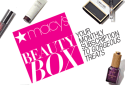 Macy's 7-Piece Beauty Box w/ $5 Beauty Credit for $15 per month + free shipping