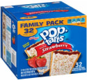 Pop-Tarts Frosted Strawberry 32-Pack for $4 + free shipping