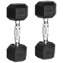 Pair of CAP Barbell Coated Hex Dumbbells from $9 + free shipping w/ $35