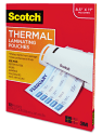 Scotch Thermal Laminating Pouches 100-Pack for $12 + pickup at Walmart