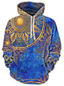Men's Maya Totem Print Hoodie for $19 + $8 s&h from China