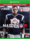 Madden NFL 18 for Xbox One for $29 + pickup at Walmart